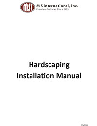 Hardscape Installation Manual
